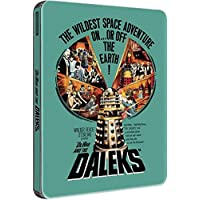 Dr Who and the Daleks - Limited Edition Steelbook Blu-ray