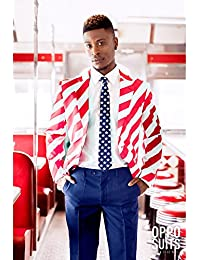 Costume Mr. America homme Opposuits