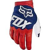 Dirtpaw Race Fox Racing Race Gloves - Motorrad MTB Handschuhe Herren Damen, Rot / Weiß, M