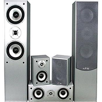 5 0 heimkinosystem 850 watt hi fi audio sound musik anlage wohnzimmer boxen lautsprecher e1004si - Audio anlage wohnzimmer ...