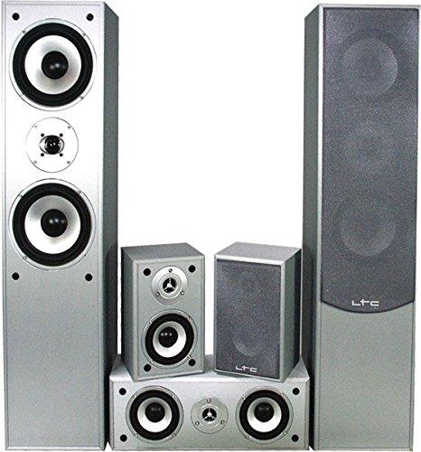 5.0 Heimkinosystem 850 Watt Hi-Fi Audio Sound Musik Anlage Wohnzimmer Boxen Lautsprecher E1004SI