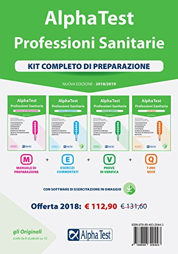 Alpha Test. Professioni sanitarie. Kit completo di preparazione. Con Contenuto digitale per download e accesso on line