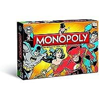 Monopoly - DC Comics Originals - 6 Sammler Spielfiguren | Gesellschaftsspiel | Brettspiel Deutsch