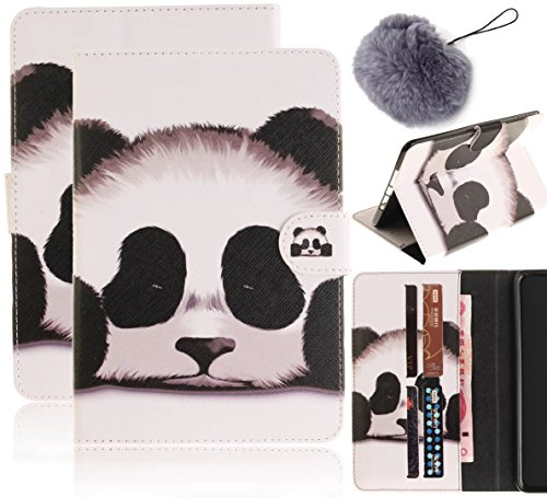 Flip Cuir Coque pour IPad Air(iPad 5) Tablette Coque,Vandot Ultra Slim Léger Smart Cover IPad Air(iPad 5) Cuir Case avec Support et fermeture magnétique et Carte Slots Housse Etui + IPhones et Android Tablet-panda