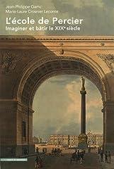 estimation pour le livre L'école de Percier : Imaginer et bâtir le XIXe...