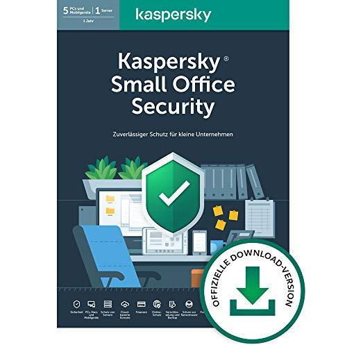 Kaspersky Small Office Security 7 Standard | 5 Geräte 5 Mobil 1 Server | 1 Jahr | Windows/Mac/Android/WinServer | für kleine Unternehmen | Standard | PC/Mac | Aktivierungscode per Email