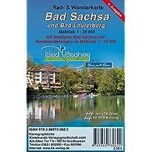 Bad Sachsa: Rad- und Wanderkarte mit Stadtplan Maßstab 1:25 000