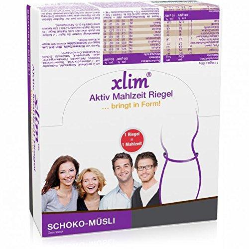 XLIM Aktiv Mahlzeit Riegel Schoko-Müsli 12X56 g