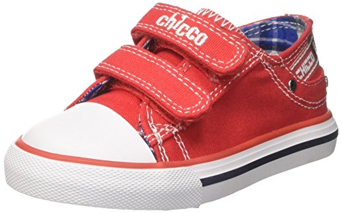 Chicco Baby Jungen Caffe Lauflernschuhe Sneakers Rot (Rosso) 25 EU