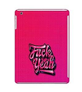 EPICCASE F_ck Yeah Mobile Back Case Cover For Apple Ipad Mini 3 (Designer Case)