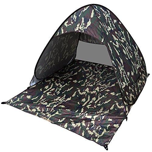 Pop Up Zelt,Myguru® Automatische Pop Up Strandzelt Wurfzelte Shelter mit UPF 50+ UV-Schutz Sonnenschutz 165 x 149 x 110 cm für Outdoor Gras Strand Garden Party Camp Picknick(Camo)