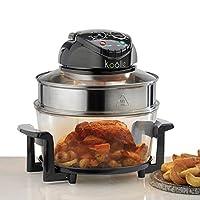 Koölle Electric Halogen Oven Cooker 17 Litre,1400 Watt, Full Accessory Pack - 2 Year Wa...
