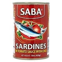 Saba Sardines In Tomato Sauce With Chili - 425 gm