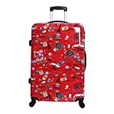 Karabar Dewberry 76 cm XL Bagage Rigide, Rouge