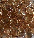 500G App 115de rosa/melocotón de cristal Pebbles/piedras/cuentas de pepitas de gemas//17–20mm