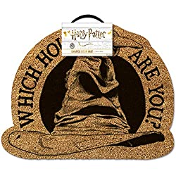 HARRY POTTER Sorting Hat Door Mat Felpudo, 40 x 60 cm
