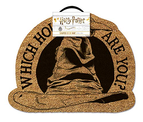 HARRY POTTER Sorting Hat Door Mat Felpudo