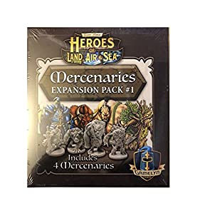 Gamelyn Games GLGHLASP201 Heroes of Land Air & Sea: Merc Pack 1 Exp, Multicolor
