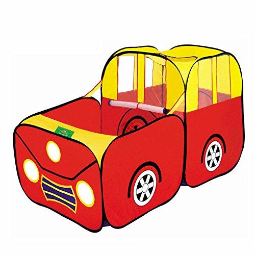 PQZATX Sport Auto Kind Spielzelt Haus Spielen Huette Kinder Ozean Baellebad Pool