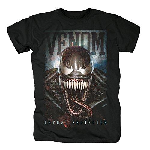 Venom (Marvel) Lethal Protector T-Shirt schwarz M