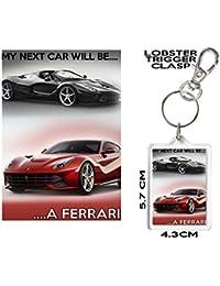 Ferrari llavero, mi próximo coche será un Ferrari. Excelente asequible cumpleaños, Navidad,
