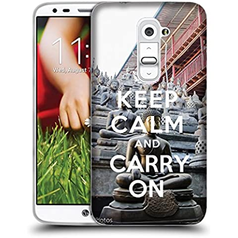 Super Galaxy Coque de Protection TPU Silicone Case pour // Q01018302 keep calm and carry on 910 // LG G2 D800 D802 D802TA D803 VS980