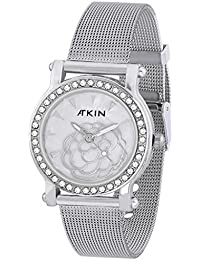 Atkin Mother Of Pearls Analog Watch For Women AT-600