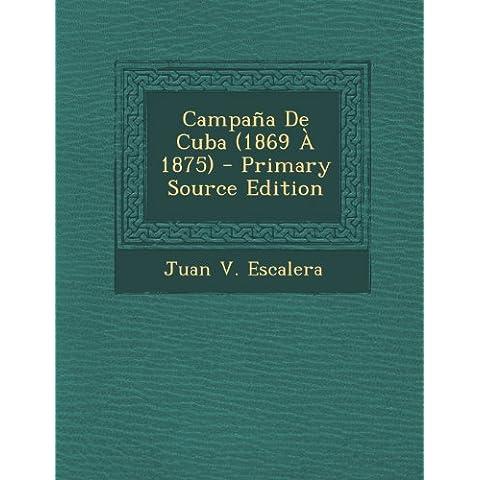 Campana de Cuba (1869 a 1875