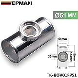 Universal 51mm 5,1cm Turbo Aluminium Flansch Rohr Tube SSQV SQV BOV Blow Off Ventil tk-bov01fp51
