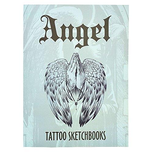 ATOMUS Tattoo Vorlagen Book Buch Engel & Flügel A4 Auf 112 Seiten Neu