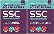 SSC Chapterwise Solved Papers 2019 - Reasoning + General Studies (Set of 2 books)
