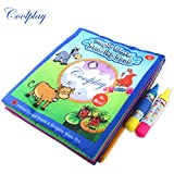 Magic Design Children Kids Coloring Painting Book Early Enlightenment Learning Drawing Water Drawing Book Doodle