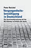 Vergangenheitsbewältigung in Deutschland: Die Auseinandersetzung mit der NS-Diktatur in Politik und Justiz (Beck'sche Reihe) - Peter Reichel