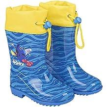 9d91bf9d85 PERLETTI Stivaletti Pioggia alla Ricerca di Dory - Stivali Impermeabili  Bambini Dory Nemo Disney - Scarpe