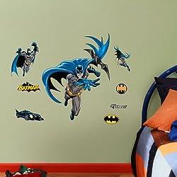 FATHEAD Batman in Action Fathead Jr. Graphic Wall D cor