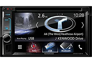 "Kenwood DNX-5170BTS Sistema di Navigazione 6.2"" con DVD, Touch Screen Clear Resistive, Monitor Fisso, Illuminazione Variabile, Bluetooth Integrato, Multicolore"