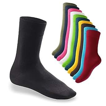 10 Paar original EVERYDAY! Socken von footstar für Sie und Ihn – Viele trendige Farben und Größen 35-50 wählbar! – Qualität von celodoro