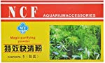 KOO Fish NCF Magic Purifying Powder Aquarium Cloudnes Remover Clear Water Conditioner, 5 Pouch in 1 Box