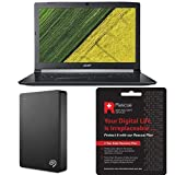Acer Aspire 5 17.3-Inch Laptop - Black with Seagate Rescue 2 Years Data