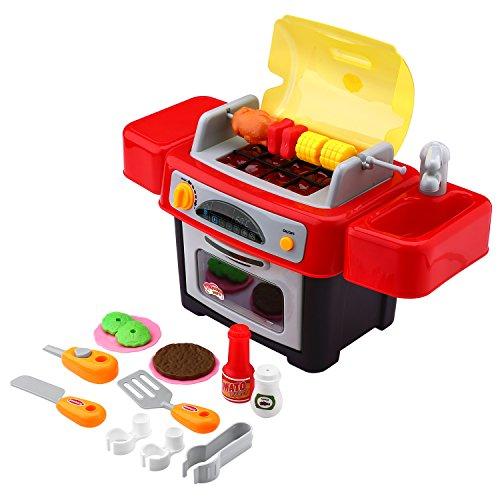 Preisvergleich Produktbild Peradix Kindergrill BBQ Grill Spielzeug Set Kinderküche Kinder Rollenspiele für Kinder ab 3 Jahre