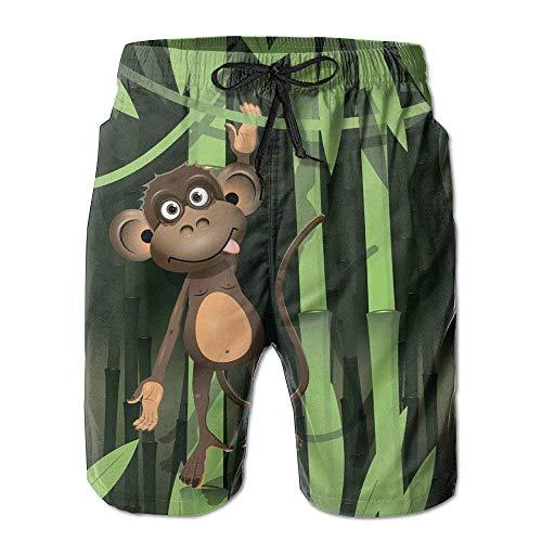 Herren Badehose New Monkey Running Shorts XL