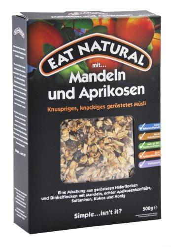 Eat Natural Müsli mit Mandeln & Aprikosen, 1er Pack (1 x 500 g)