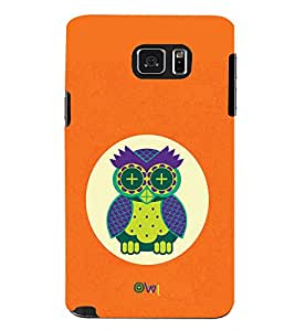 TOUCHNER (TN) Sleeping Owl Back Case Cover for Samsung Galaxy Note 5 N920