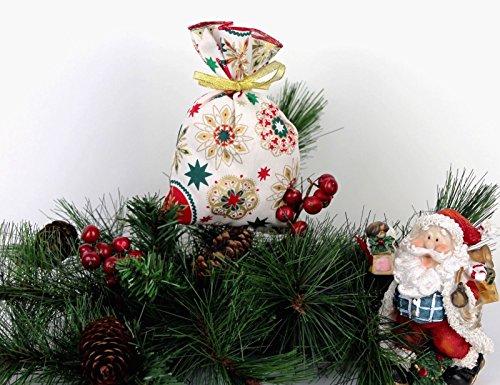 LD Noël Décoration Sachet à remplir Calendrier de l'Avent Noël sac cadeau plastique Sachet