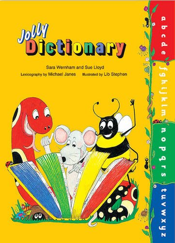 Jolly Dictionary (Hardback edition in print letters) Cover Image