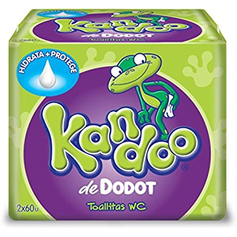 Dodot Kandoo Toallitas umide, Melon - 120 unità