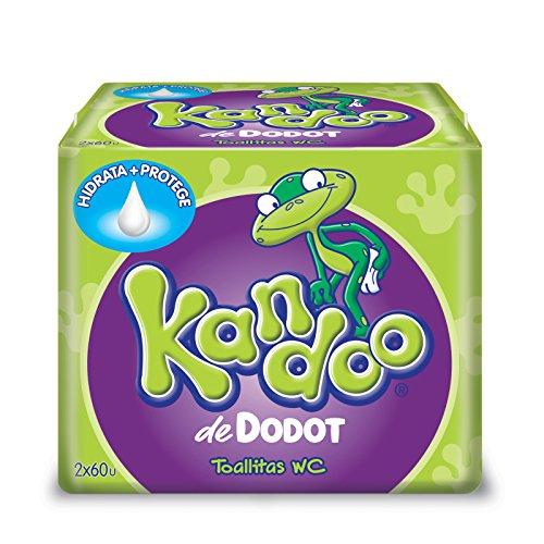 Dodot Kandoo Feuchtigkeitstücher, Melone - 120 Stück (Kandoo Feuchttücher)