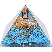 Humunize Tourquise Münze, Gelb Aventurine mit Bleistift Orgon Pyramide Chakra-Energie-Generator Reiki Stein Fen... preisvergleich bei billige-tabletten.eu