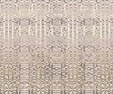 Artland Premium Spritzschutz Küche I Küchenrückwand Herd aus Alu-Verbundplatte BxH: 60x50 cm sehr schnelle und einfache Montage Muster Beige