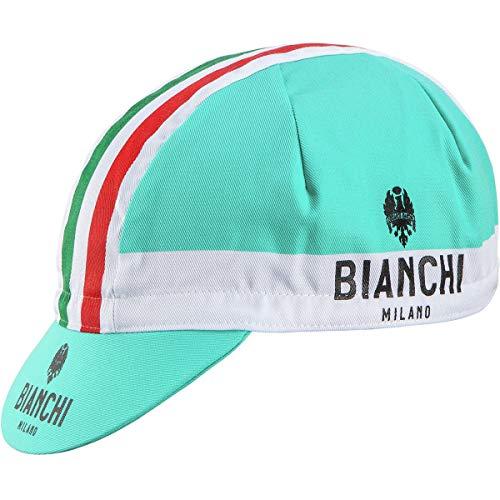 Bianchi Milano Neon World Champ Gorra de Ciclismo, Hombre, Blanco, Talla única